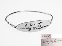 Signature Bangle in Sterling Silver